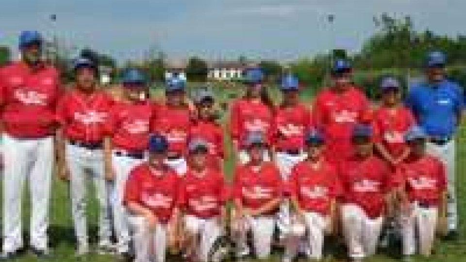 Baseball, ancora vittorie delle squadre giovanili sammarinesi