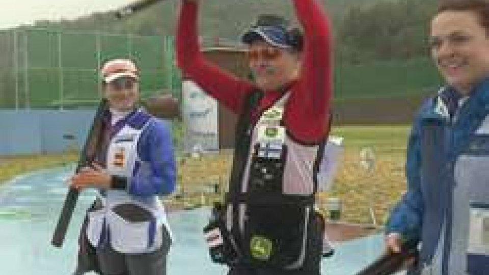 Tiro a volo: bronzo per la Perilli a Changwon