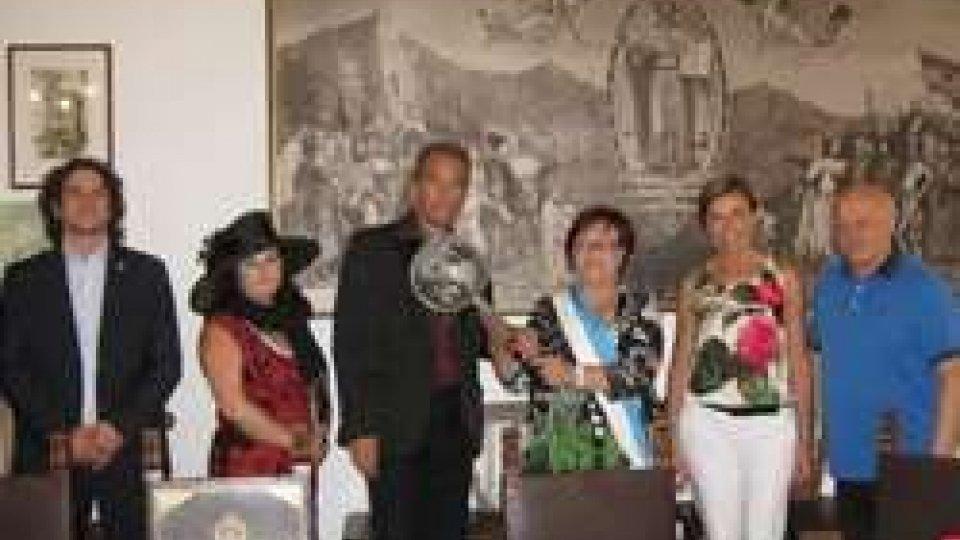 La Fiamma dell'Amicizia accolta alla Reppublica di San Marino sabato 23 luglio