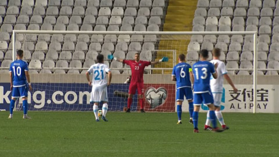 Cipro San MarinoCipro - San Marino 5-0 a Serravalle arriva la Scozia