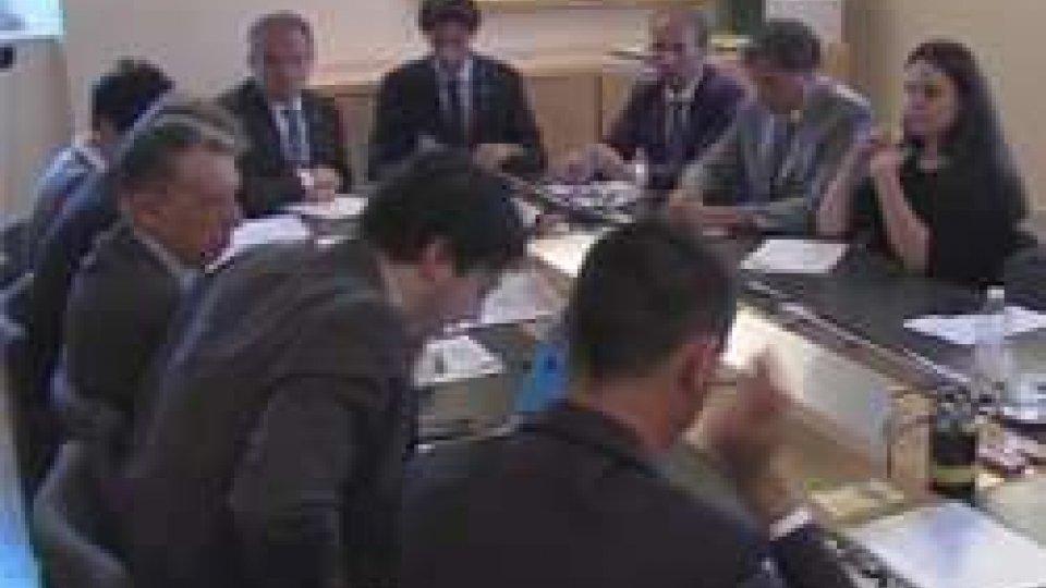 Ufficio di presidenzaUfficio di Presidenza: in Consiglio l'accordo di associazione all'Unione Europea