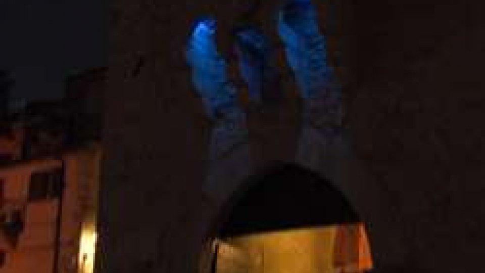 San Marino si illumina di blu per l'autismo: 20 i bambini con sindrome sul Titano