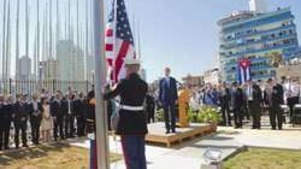 Cuba: dopo 54 anni torna la bandiera USACuba: dopo 54 anni torna la bandiera USA
