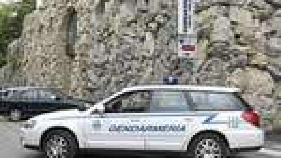 San Marino - Furto d'attrezzi a Chiesanuova
