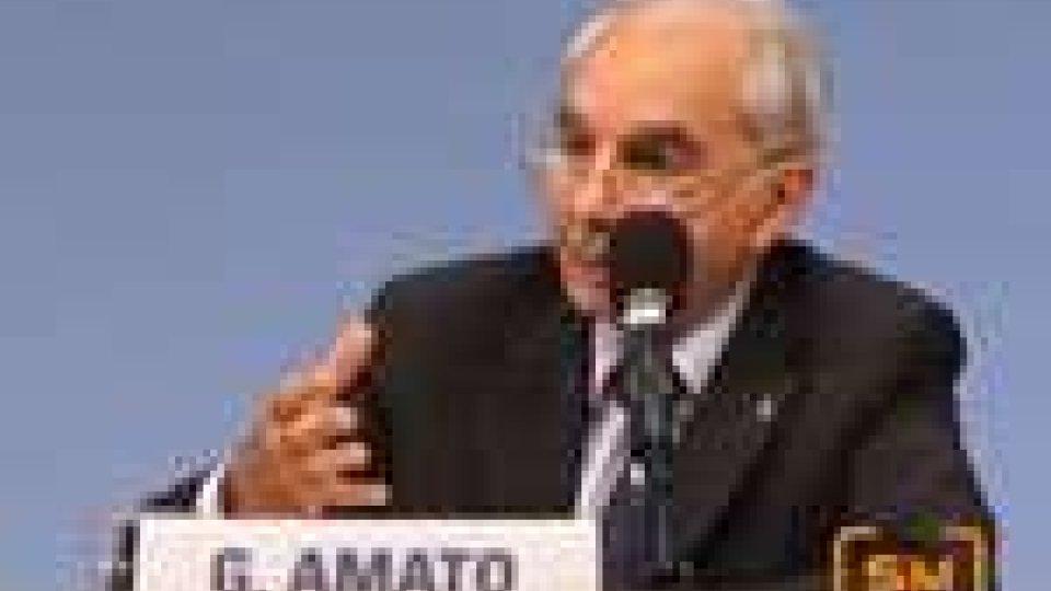 Giuliano Amato protagonista al Meeting