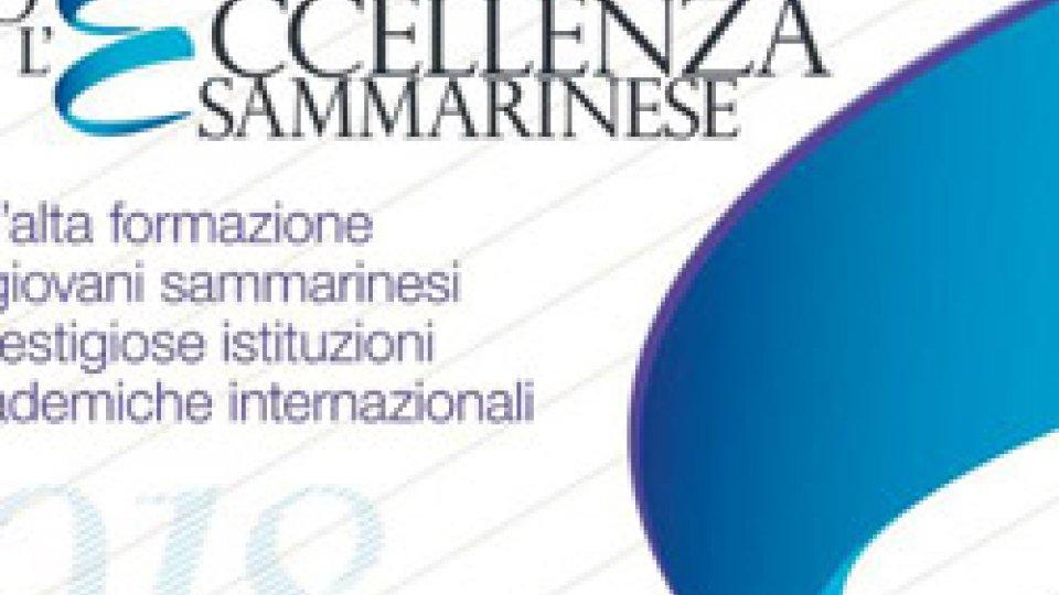 Fondo per l'Eccellenza sammarinese: premiati i beneficiari della quinta edizione