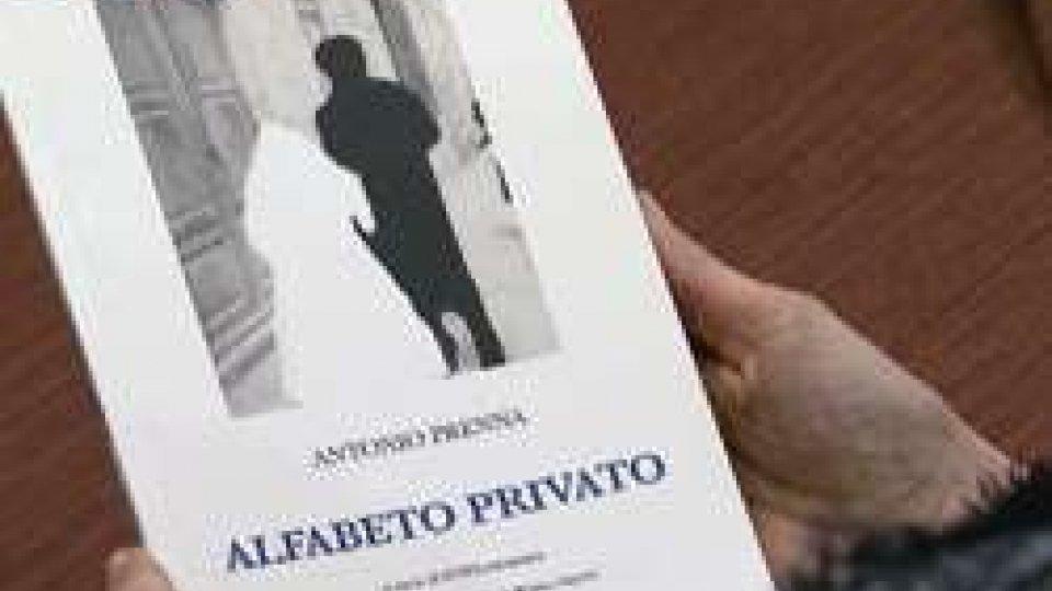 """Il libro di Prenna """"Alfabeto Privato""""""""ALFABETO PRIVATO"""" in Città"""