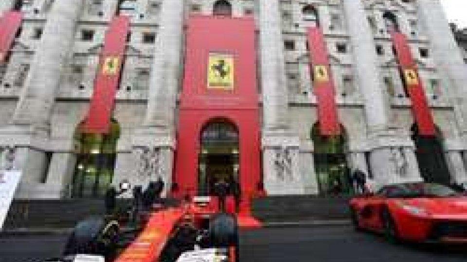 Ferrari a Piazza Affari