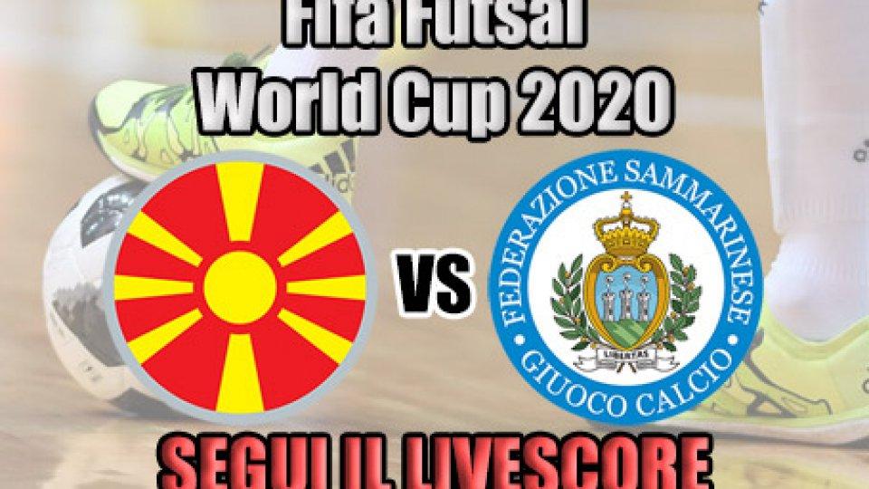 Futsal, Macedonia-San Marino: 7-0 FINALE