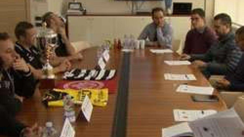 Presentata la finale di Supercoppa sammarinese: tutto pronto per la sfida  Folgore - MurataPresentata la finale di Supercoppa sammarinese: tutto pronto per la sfida  Folgore - Murata