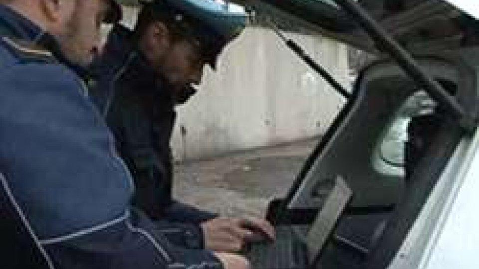 La Polizia Civile. Foto di repertorio