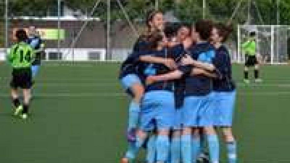 Calcio Femminile: Bologna - Fed. Sammarinese 2-2