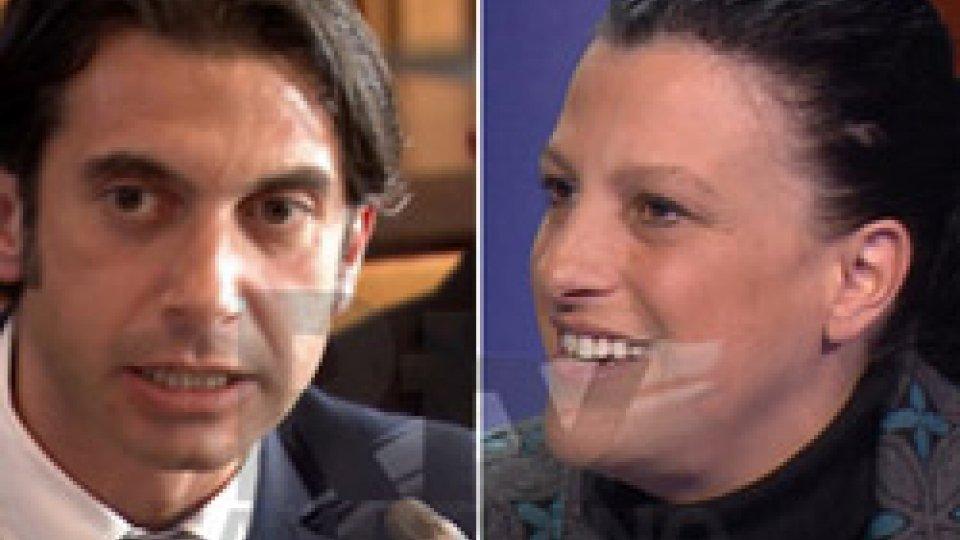 Giovanna Cecchetti e Tony Margiotta