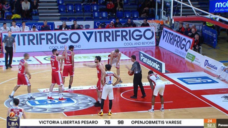 Pesaro VareseBasket, crisi VL: anche Varese passa a Pesaro