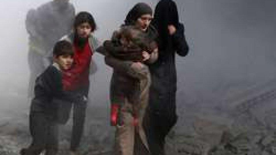 Siria, raid governativi sulla Ghuta