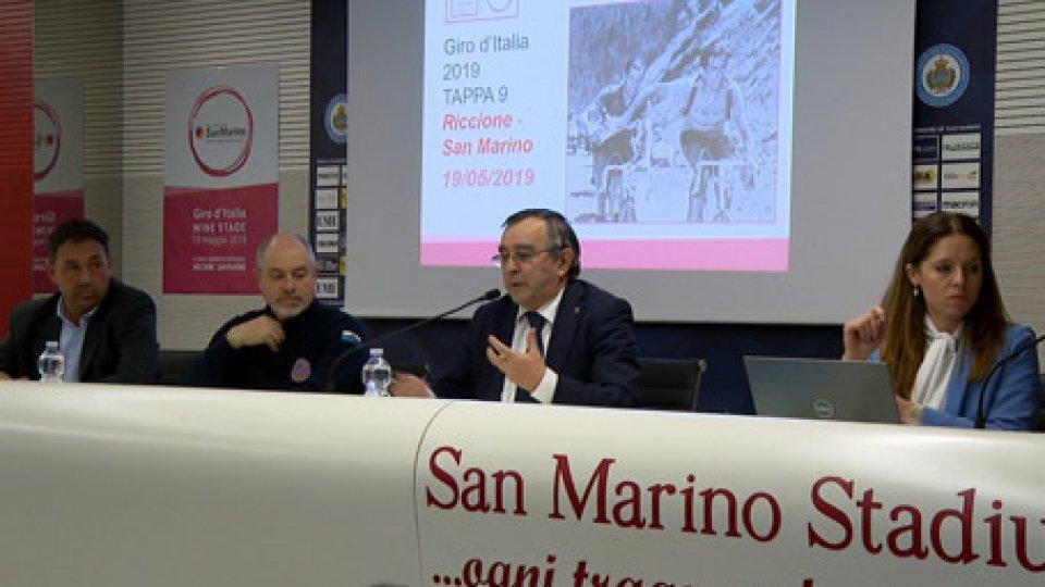 conf stampaGiro d'Italia, presentata la Tappa Riccione-San Marino. E il 28 marzo passa la Coppi Bartali