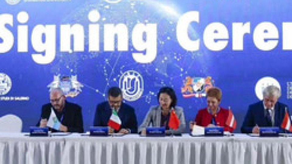 Intesa su ricerca e scambio studenti fra l'Università di San Marino e l'Ateneo di Shanghai