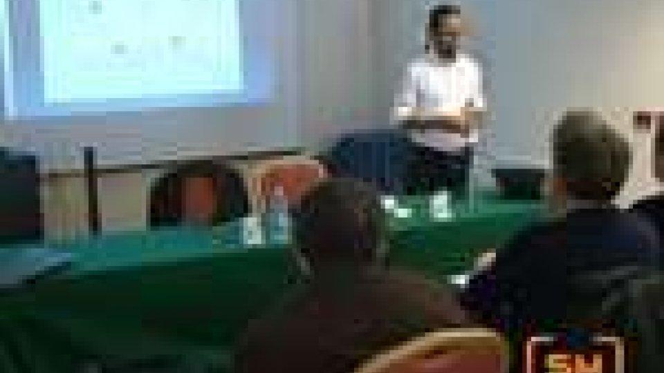 San Marino - Luca Conti invitato da Osla per una serie di lezioni sui social network