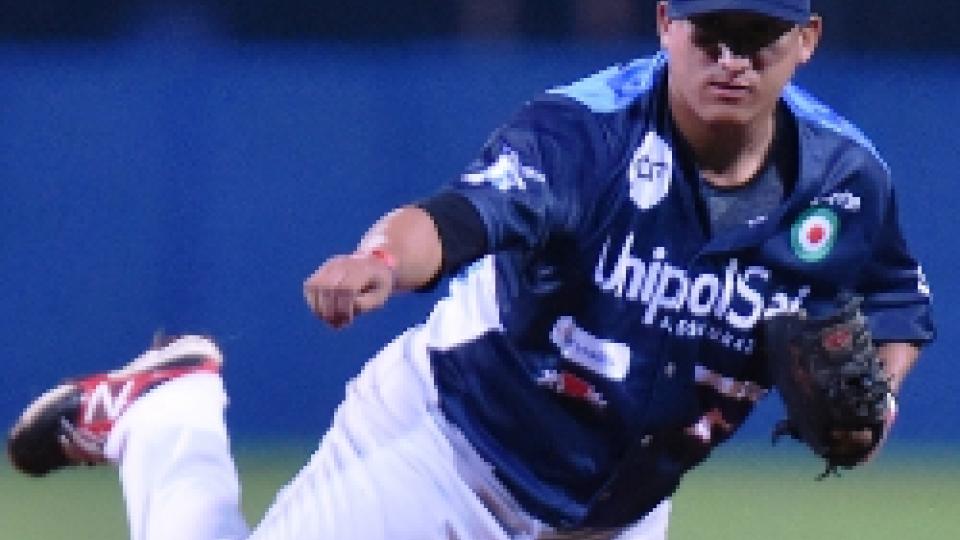 Raul Rivero, partente di Bologna e sul monte per 8 inning.Baseball, gara3: Bologna passa a San Marino