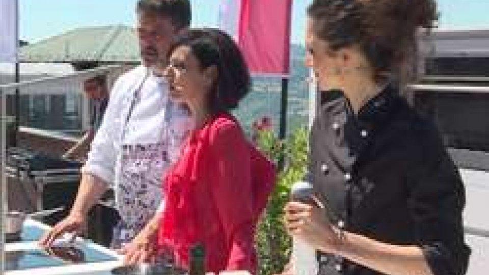 Cristina Nicoli con lo Che Sartini e Sonia Grassi