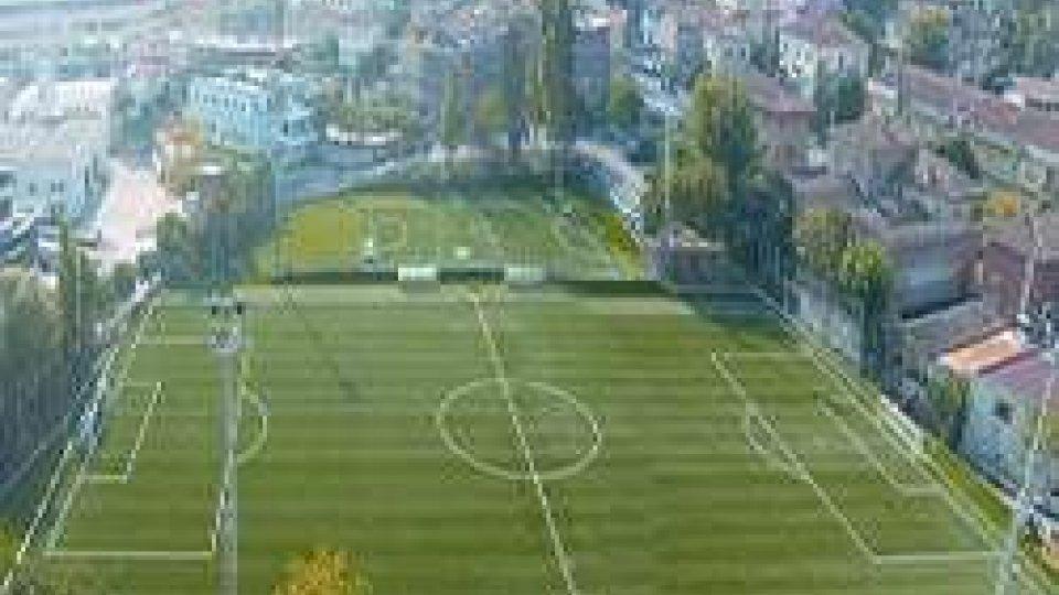 Il centro sportivo di Dogana