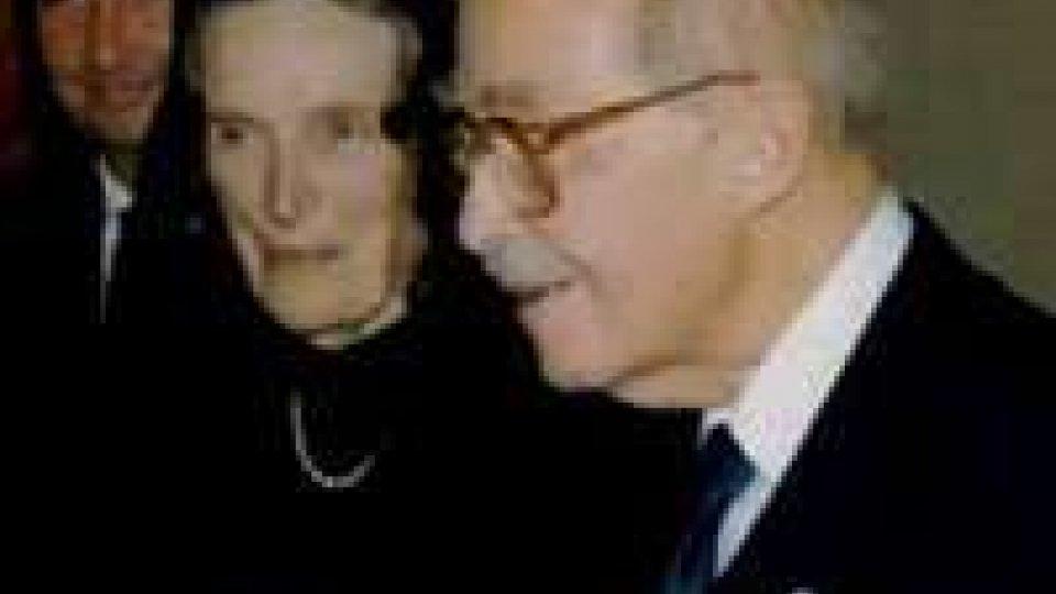 Premio Otto d'Asburgo a San Marino per la testimonianza cristianaPremio Otto d'Asburgo a San Marino per la testimonianza cristiana