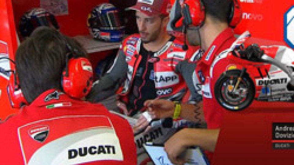 Andrea DoviziosoMisano FP2 : Dominio Ducati: dietro Dovi, Lorenzo