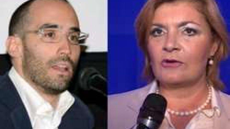 Nicola Renzi e Bianca Caruso