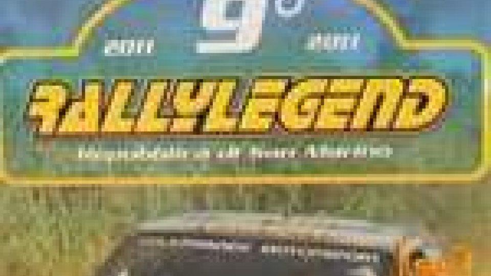 San Marino - Presentata la nona edizione del Rally Legend