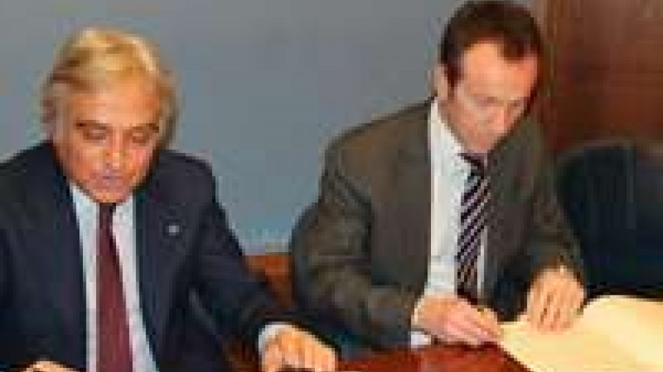 Intesa tecnica anti-crimine: le foto della firma