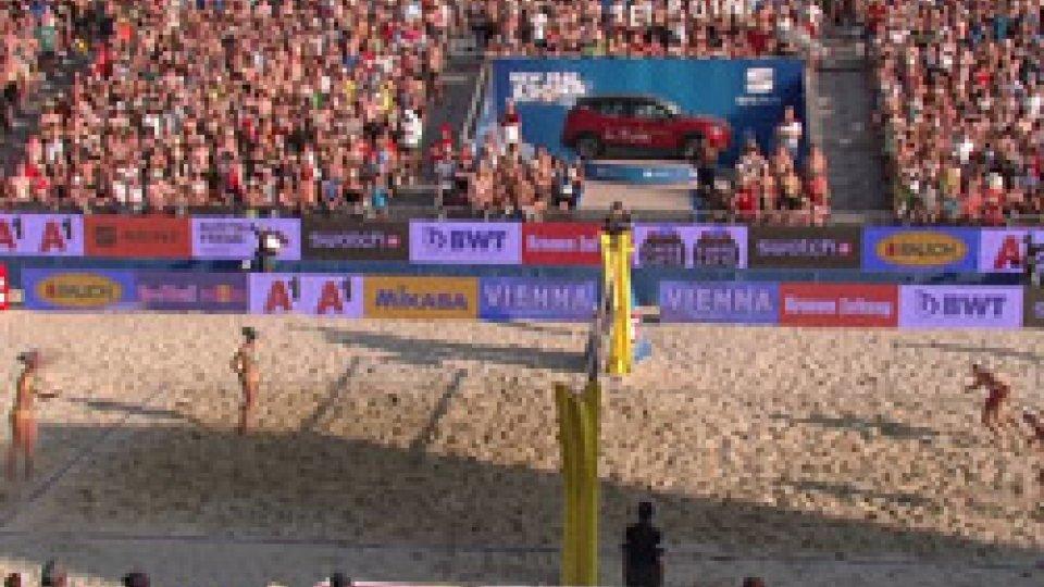 Beach Volley: a Vienna trionfano le ceche Hermannova/SlukovaBeach Volley: a Vienna trionfano le ceche Hermannova/Slukova