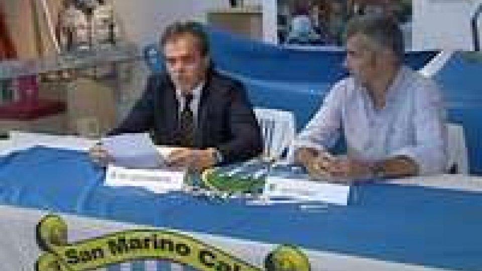 San Marino Calcio, presentata la nuova rosa. A fine mese la partenza per il riitiroSan Marino Calcio, presentata la nuova rosa