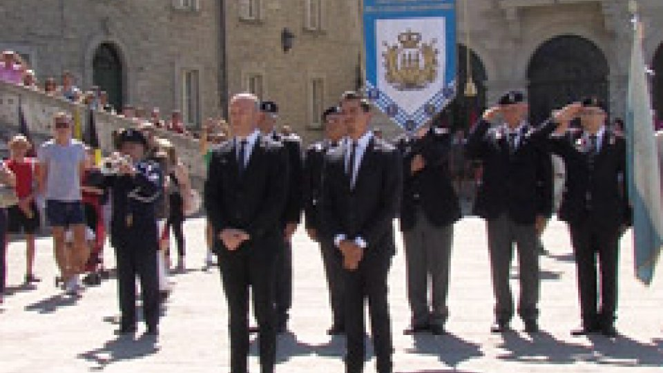 La cerimonia sul pianelloIl dovere della memoria: in Piazza della Libertà San Marino celebra il 28 luglio
