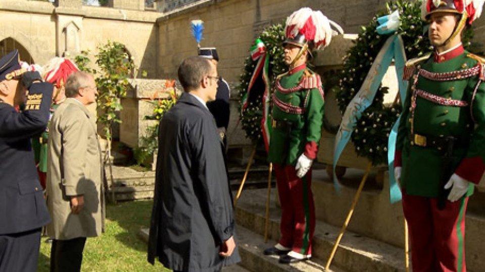 Nicola Renzi E Guido CerboniA 100 anni dalla fine della I Guerra Mondiale, anche San Marino ricorda il conflitto e i suoi caduti
