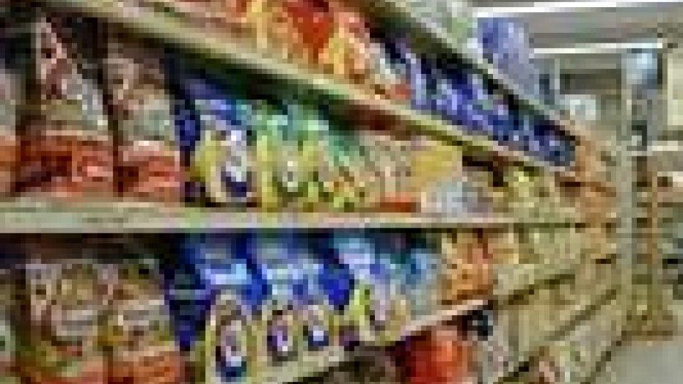 Consumi alimentari in calo sul Titano