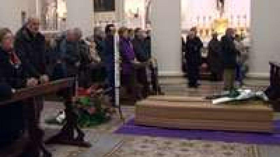Il funerale di Renzo BonelliIl funerale di Renzo Bonelli
