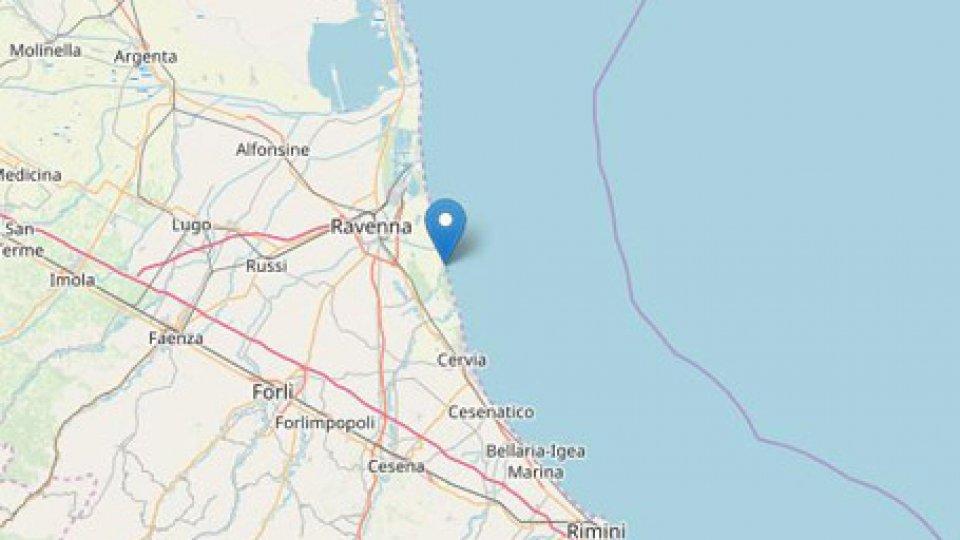 Cartina terremoto @Ingv
