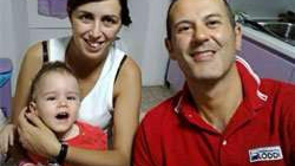 Thomas Gorini insieme a Marco e Marianna