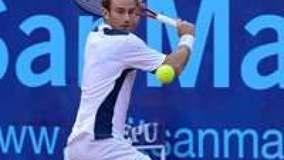San Marino Open: Filippo Volandri ai quarti