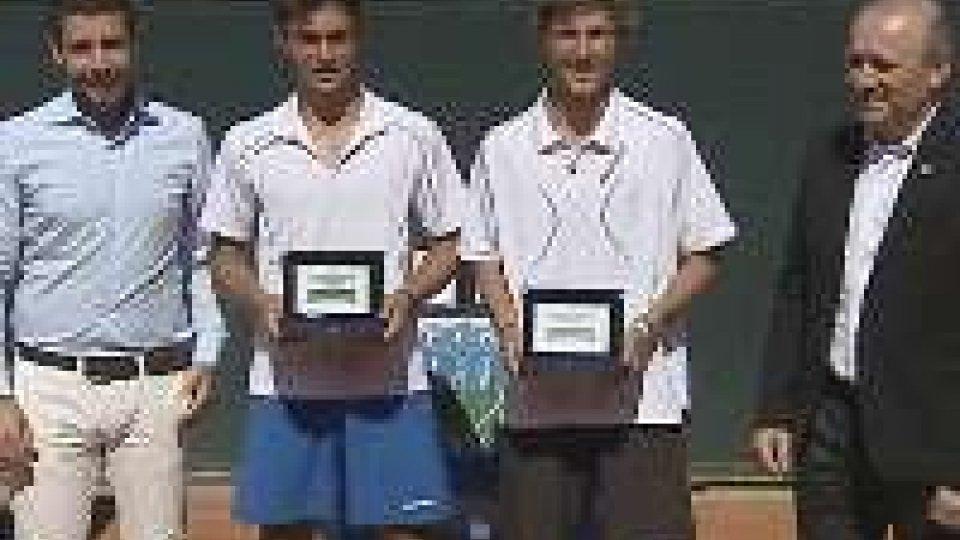 Asset Banca Junior Open: De Rossi e Bertuccioli vincono il torneo di doppioAsset Banca Junior Open: doppio a De Rossi e Bertuccioli
