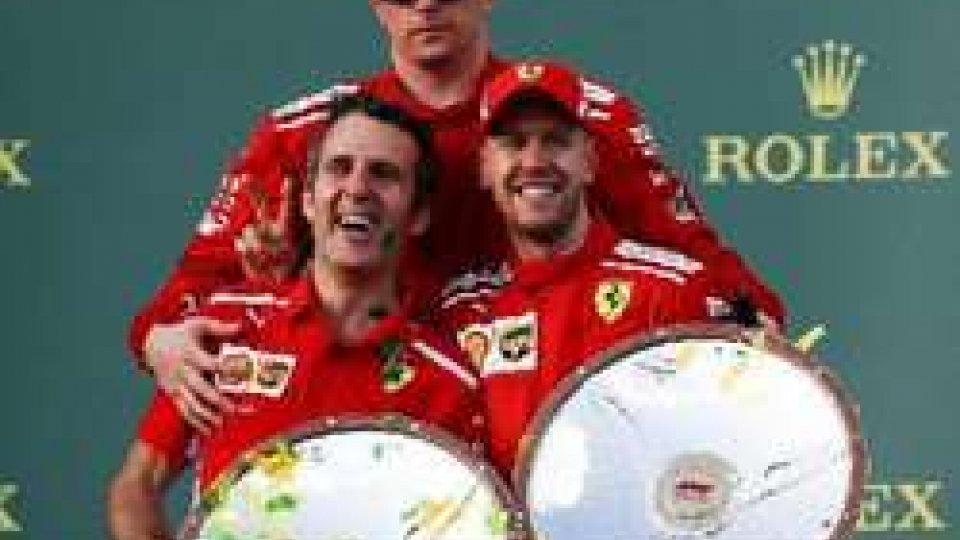GP Australia:  vince Vettel,  Raikkonen terzo