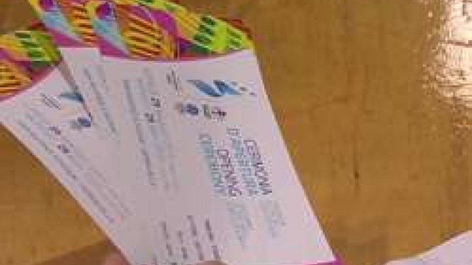 I biglietti per la cerimonia d'apertura