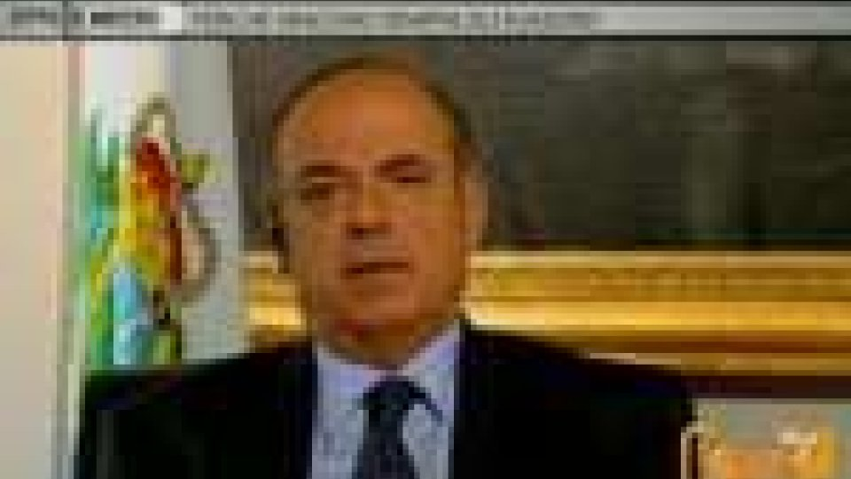 San Marino - Il segretario alla giustizia Augusto Casali, ieri sera ospite della trasmissione 8 e ½ su La7