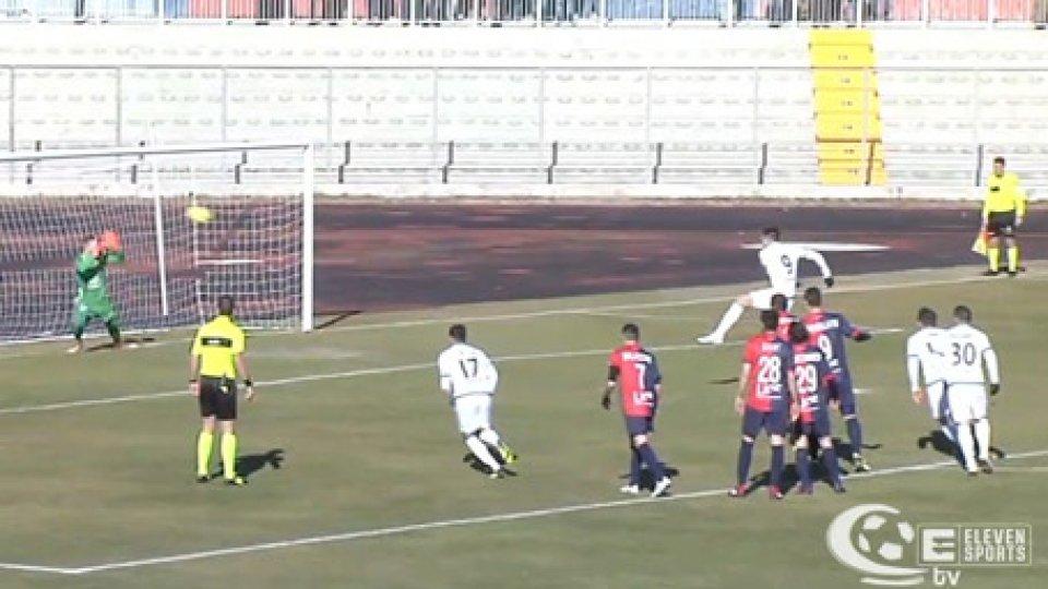 La Feralpi fa settebello, 3-0 in casa del Gubbio