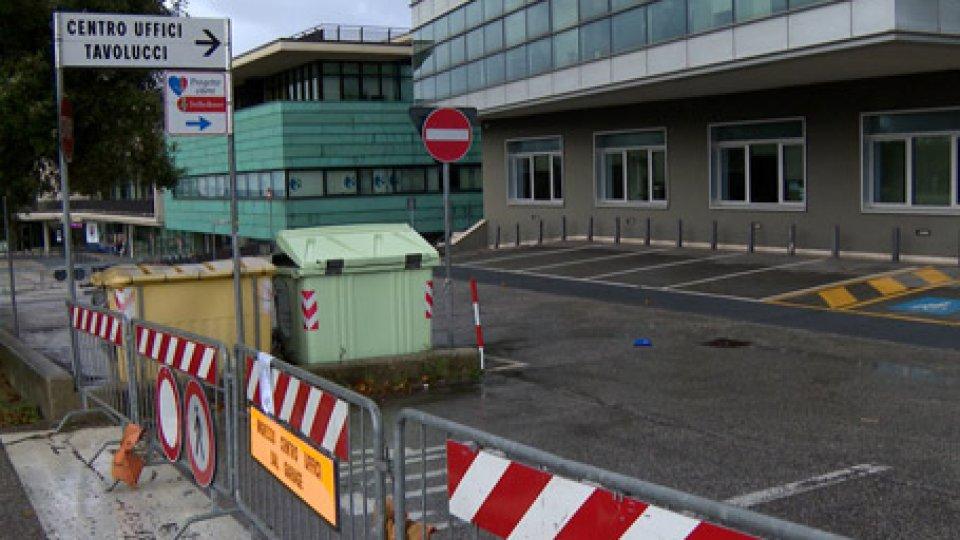 Chiusura parcheggi Centro Uffici