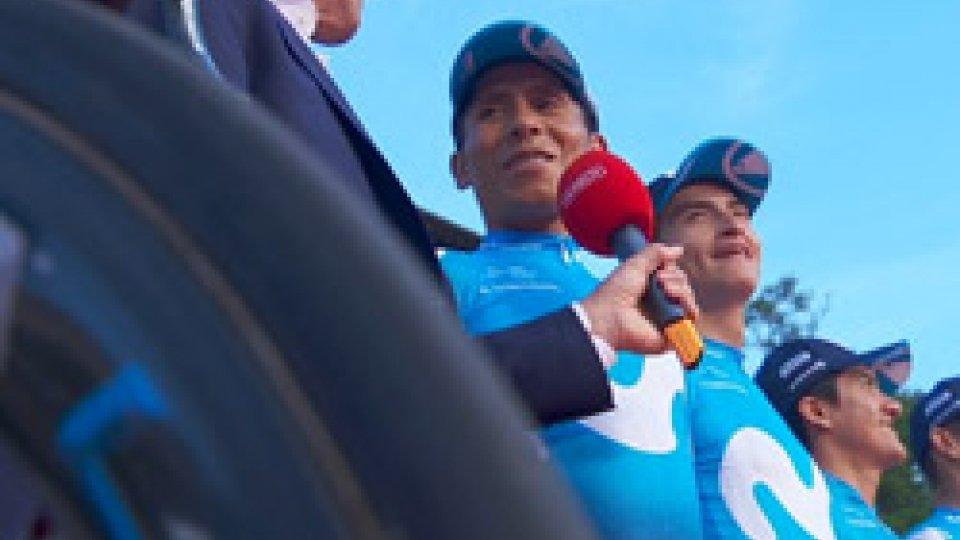 Vuelta, la presentazione delle squadre