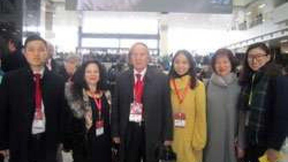 Una delegazione sammarinese al 10° Convegno Mondiale degli Istituti Confucio di Shanghai