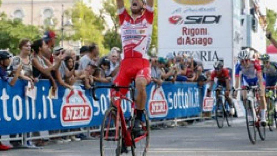 Con Ballerini trionfo Androni-Sidermec al Memorial PantaniCon Ballerini trionfo Androni-Sidermec al Memorial Pantani