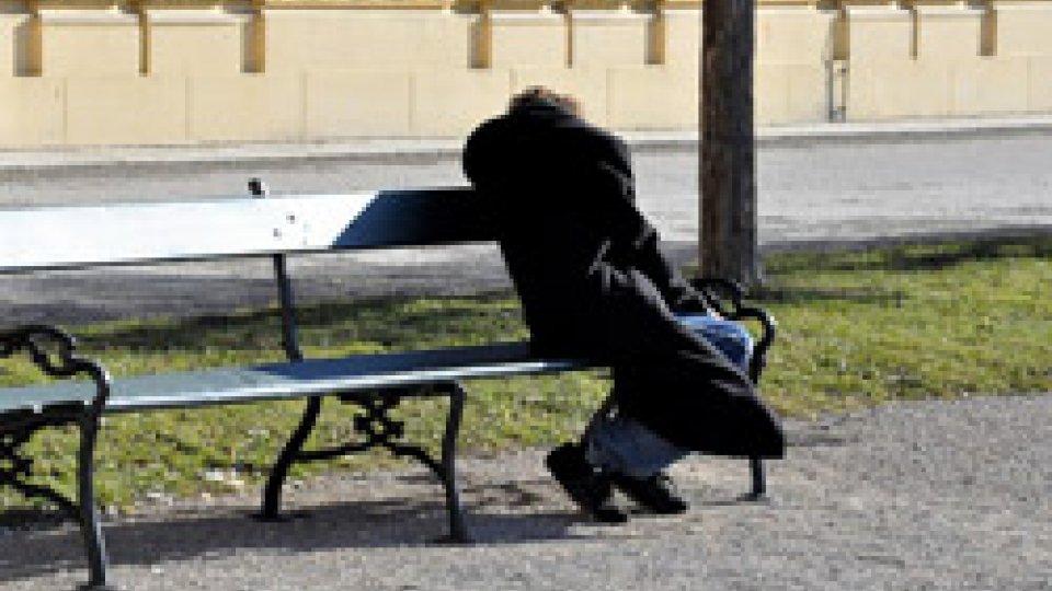 Un senzatetto. Foto repertorio @pixabay