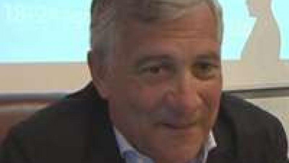 Antonio Tajani interviene su San Marino e UeAntonio Tajani interviene su San Marino e Ue
